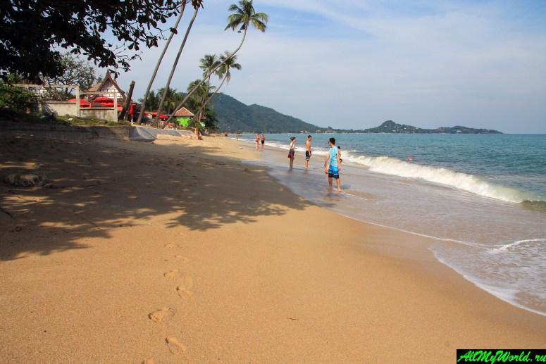 Лучшие пляжи Самуи: Пляж Ламаи (Lamai Beach)