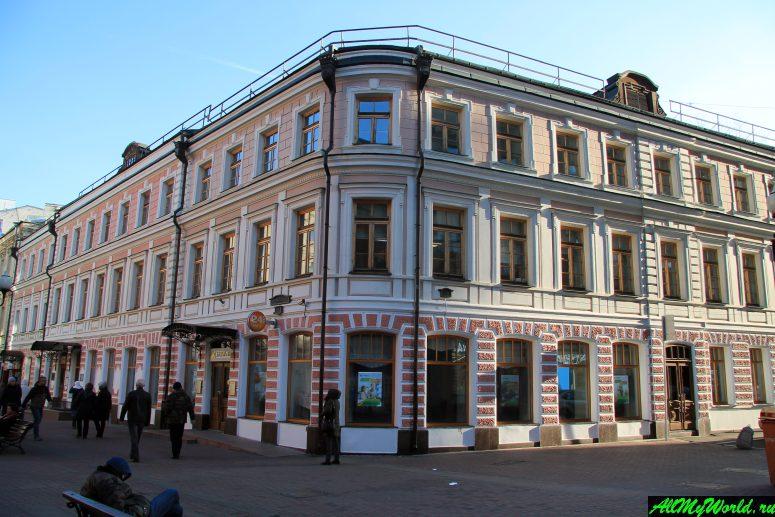 Прогулки по Москве: Арбат, дом Лосева