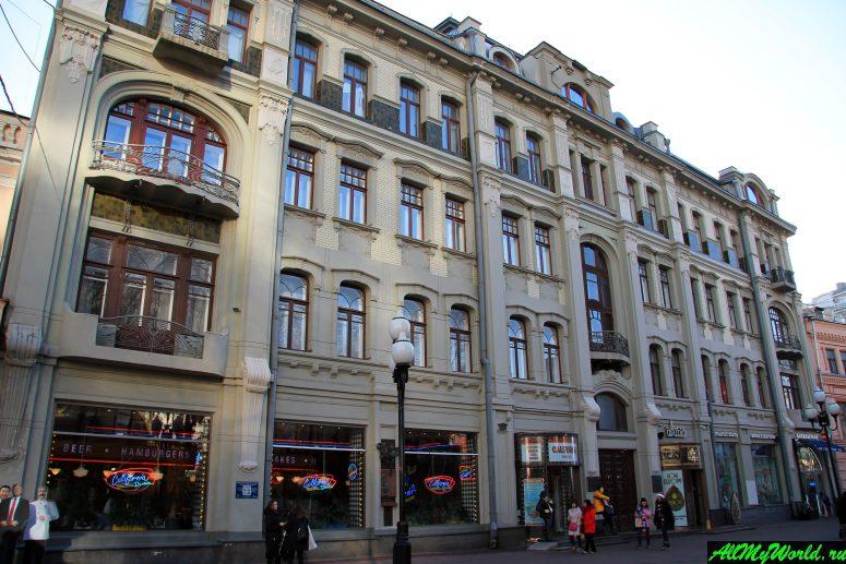 Прогулки по Москве: Арбат, гостиница Ечкина