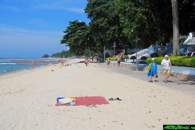 Паттайя, пляж Вонгамат: здесь даже тайцы говорят по-русски