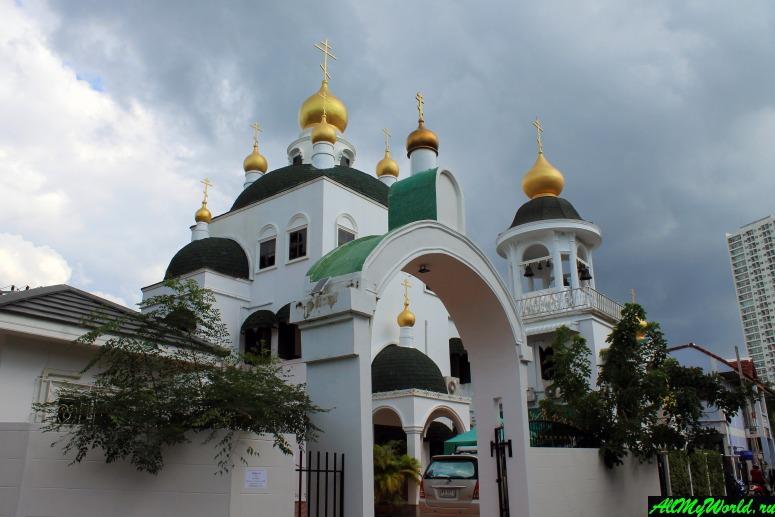 Паттайя, Вонгамат - Церковь Николая Чудотворца