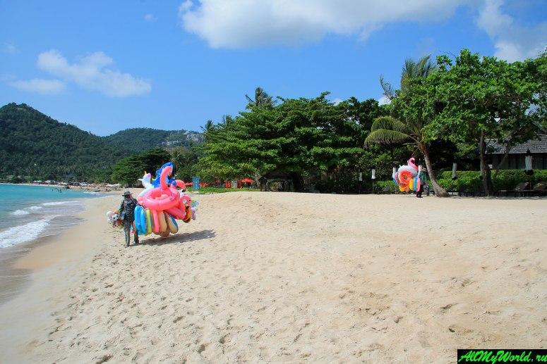 "Пляж Чавенг Ной (Chaweng Noi Beach) - ""элитная"" версия Чавенга"