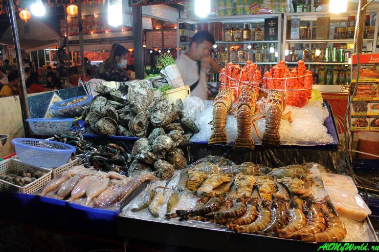 Пляж Джомтьен в Паттайе - ресторан Pupen Seafood