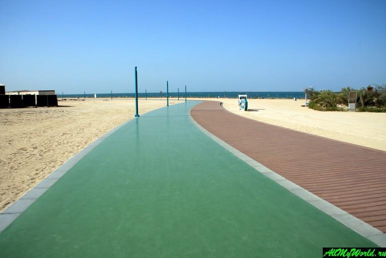 Лучшие бесплатные пляжи Дубая - Пляжный парк Джумейра (Jumeirah Beach Park)
