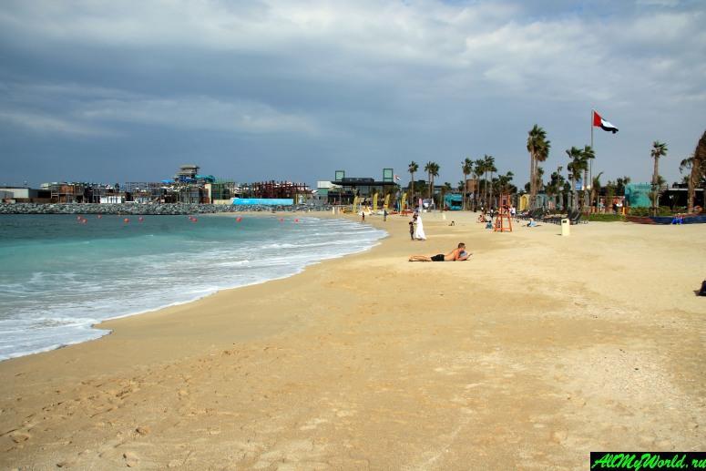 Лучшие бесплатные пляжи Дубая - Пляж Джумейра (пляж Ла-Мер)