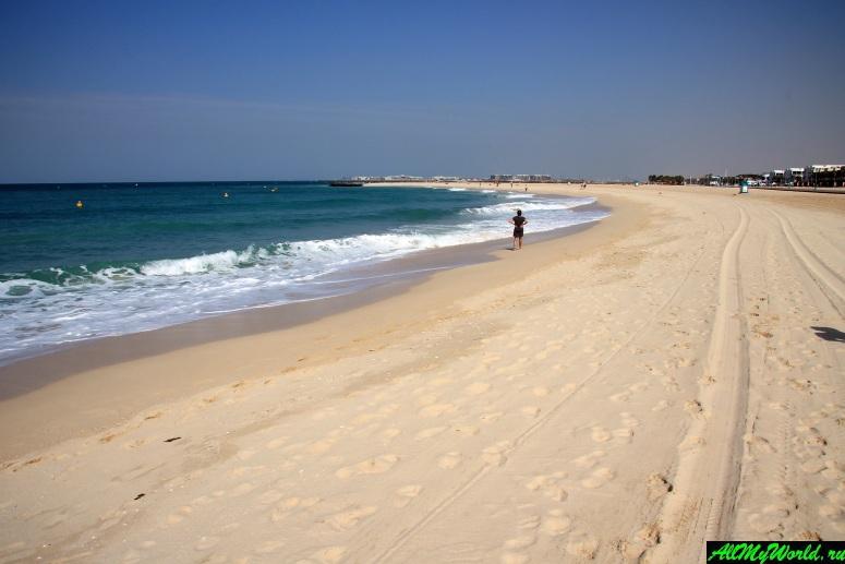 Лучшие бесплатные пляжи Дубая - Кайтерский пляж (Kite Beach, Umm Suqeim 1)