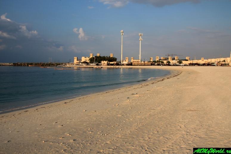 Лучшие бесплатные пляжи Дубая - Пляж Джумейра 2 (Открытый пляж Open Beach)