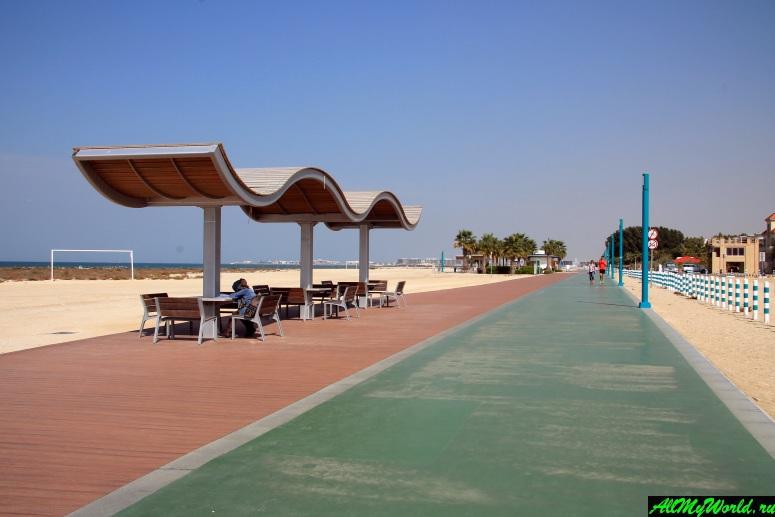 бесплатные пляжи Дубая - Пляж Джумейра 3 (Jumeirah 3 Beach, Сансет-бич, Sunset Beach)