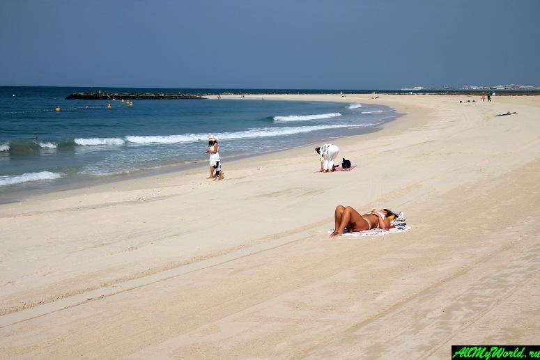 Лучшие бесплатные пляжи Дубая - Пляж Джумейра 3 (Jumeirah 3 Beach, Сансет-бич, Sunset Beach)