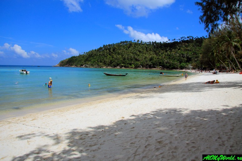 Хаад Салад - семейный пляж на западе Пангана