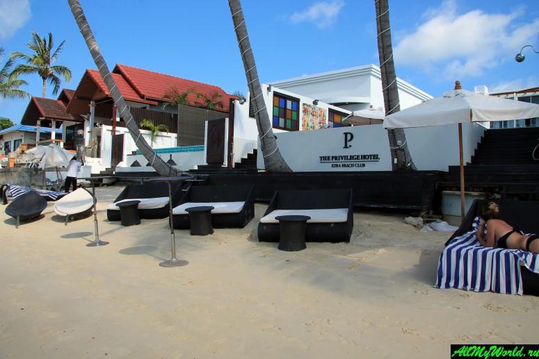 Самуи, Банграк: пирсы, катера и песчаный пляж