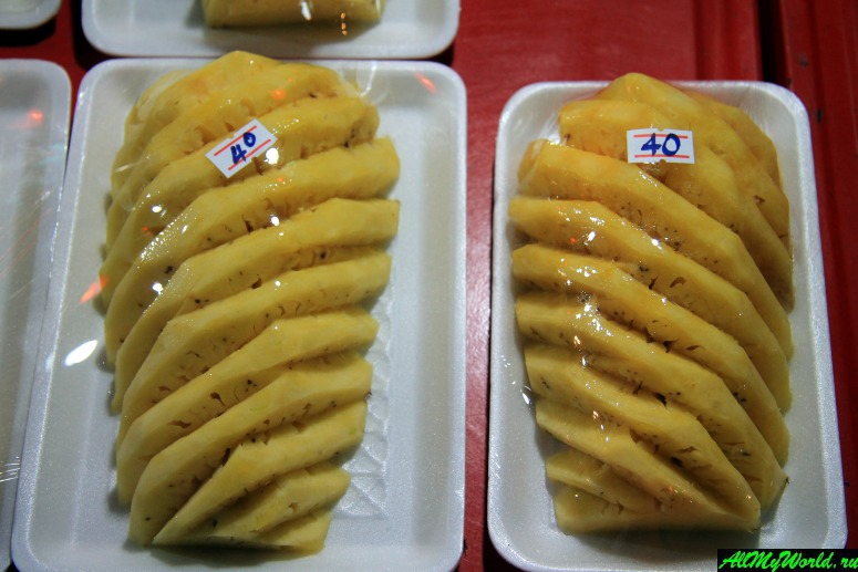 Тайские фрукты - Ананас