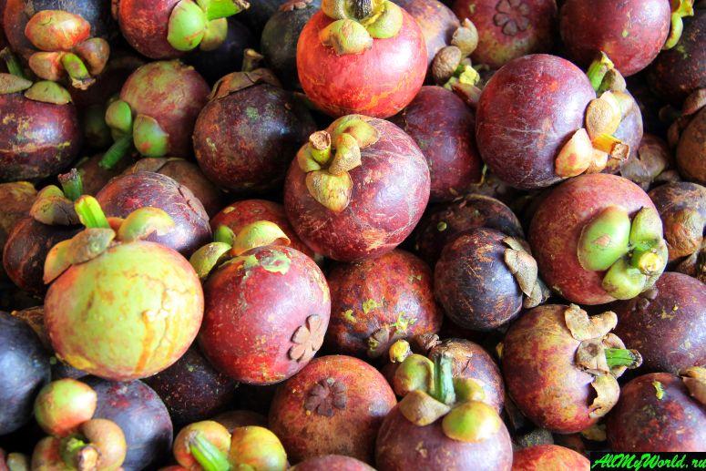Тайские фрукты - Мангустин (или мангостин)
