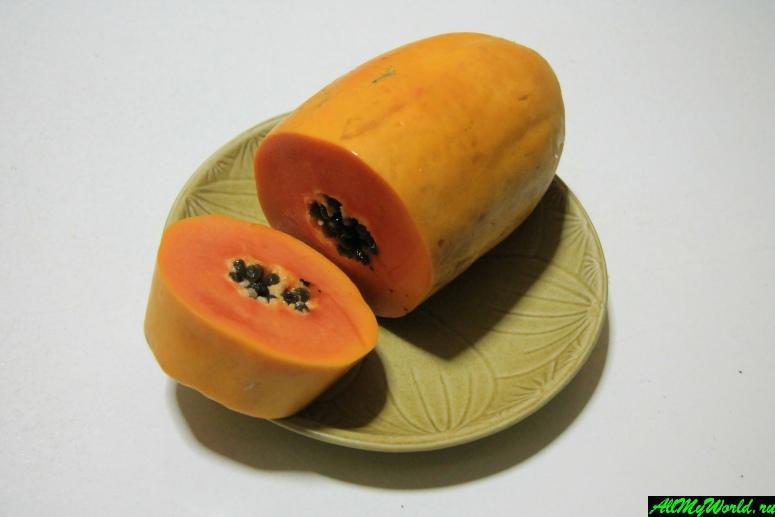 Тайские фрукты - Папайя