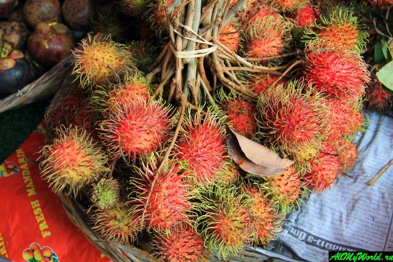 Тайские фрукты - Рамбутан
