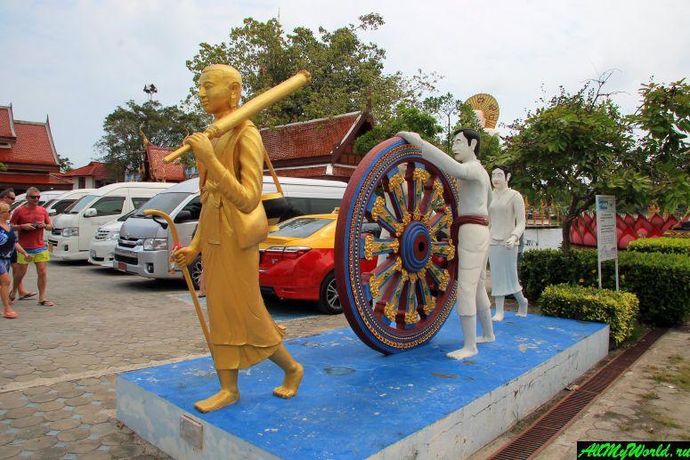 """Ват Плай Лаем на Самуи: """"многорукий Будда"""", Хотэй и огромные рыбы"""