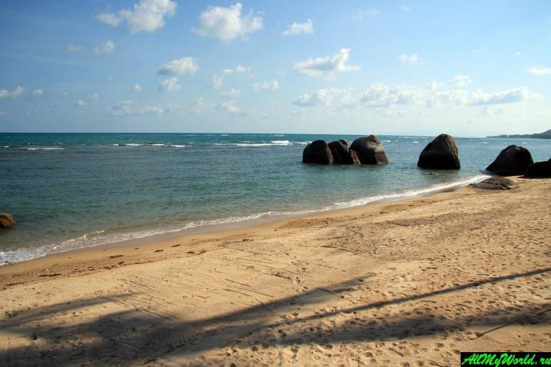 Все пляжи Самуи: Пляж Хуа Танон (Hua Thanon Beach)