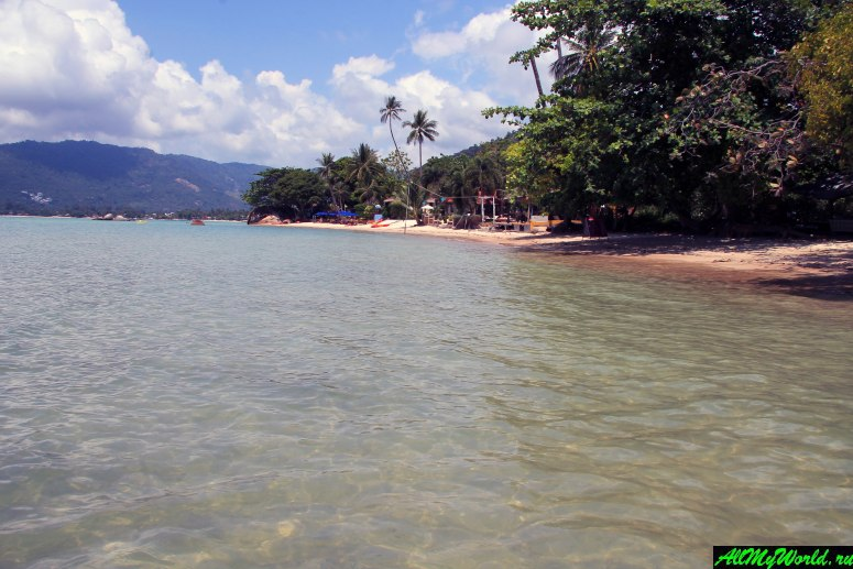 Все пляжи Самуи: Пляж Лаем Нан (Laem Nan Beach)