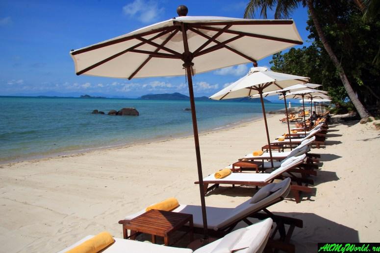 Все пляжи Самуи: Пляж Лаем Сет (Laem Set Beach)