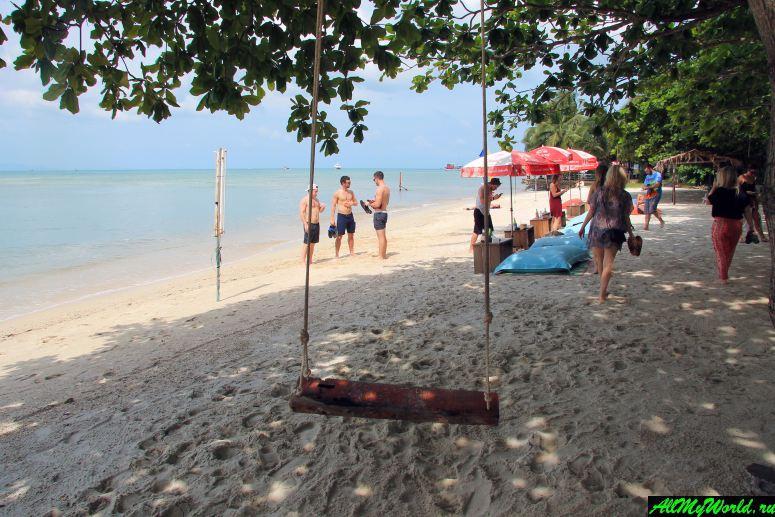 Все пляжи Самуи: Пляж Натон (Nathon Beach)
