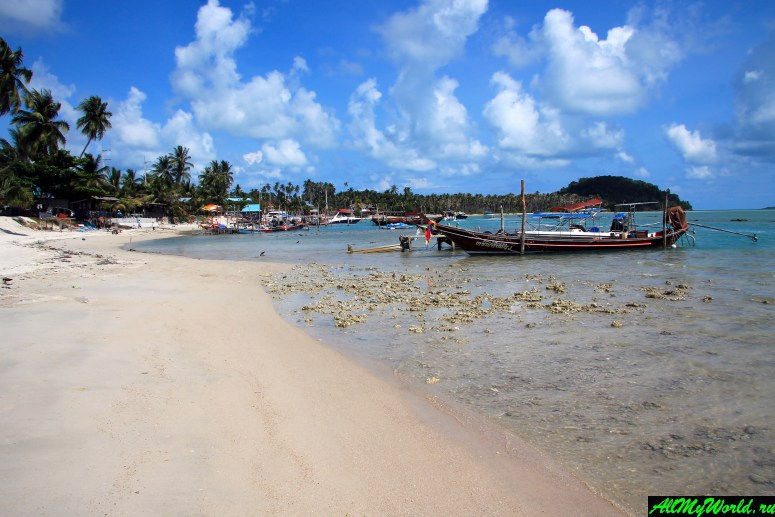 Все пляжи Самуи: Пляж Тонг Крут (Thong Krut Beach)