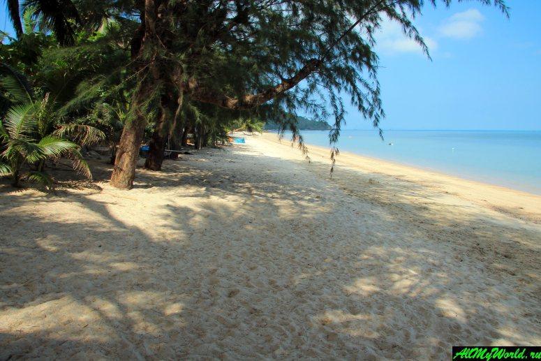 Все пляжи Самуи: Пляж Тонг Плу (Thong Plu Beach)