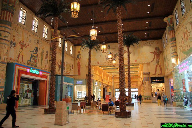 Достопримечательности Дубая - Ибн Баттута Молл