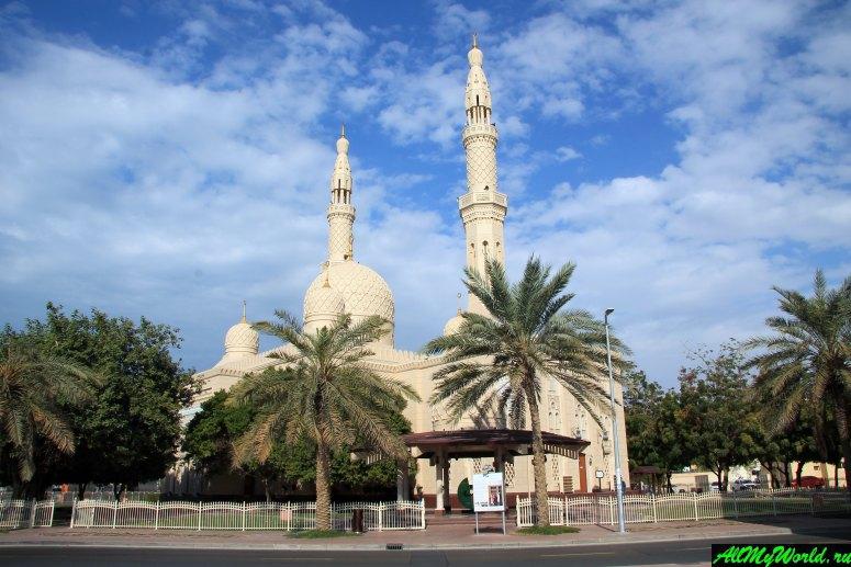 Достопримечательности Дубая - Мечеть Джумейра