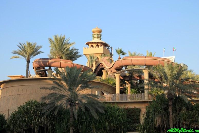 Достопримечательности Дубая - Аквапарк Wild Wadi