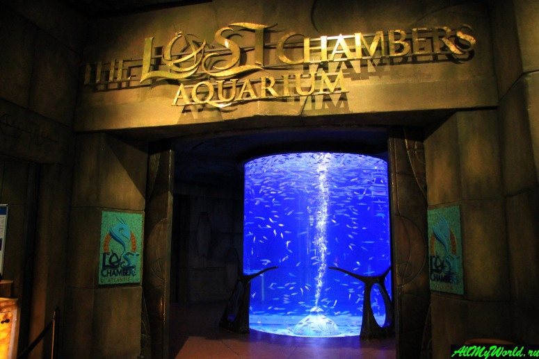 Достопримечательности Дубая - Аквариум Lost Chambers