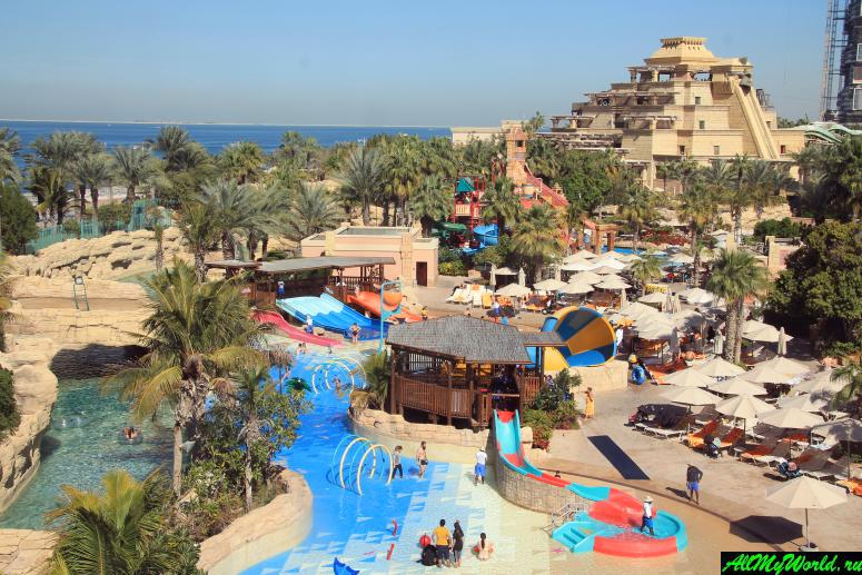 Достопримечательности Дубая - Аквапарк Aquaventure