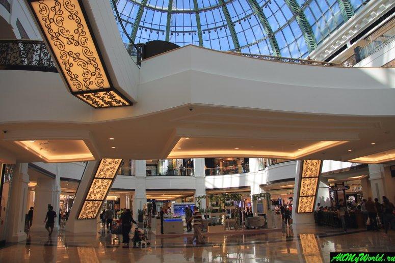 Дубай достопримечательности: Молл Эмиратов