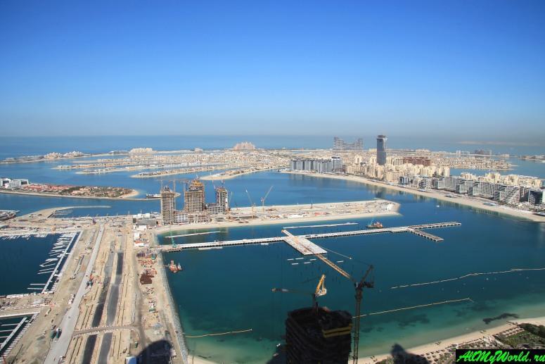 Дубай достопримечательности: Остров Пальма Джумейра