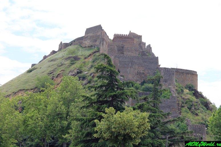 Достопримечательности города Гори, Грузия: Крепость Горисцихе