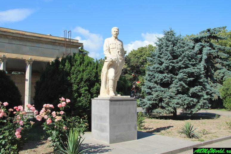 Достопримечательности города Гори, Грузия: музей Сталина
