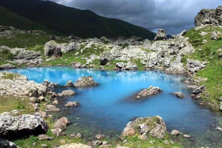 Грузия, Хевсуретия - Абуделаурские озера