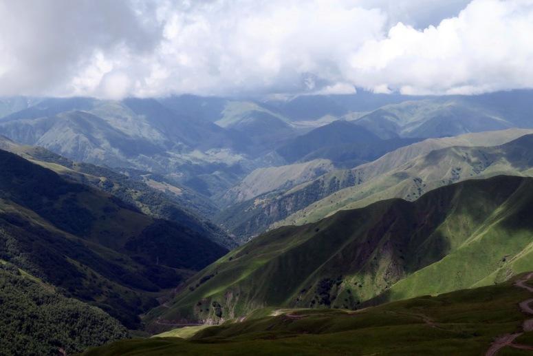 Грузия, Хевсуретия - Медвежий перевал