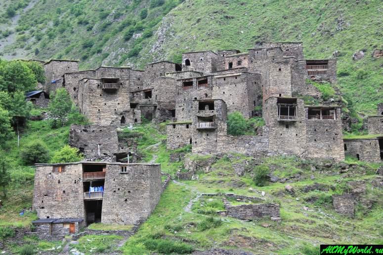 Грузия, Хевсуретия - крепость Шатили