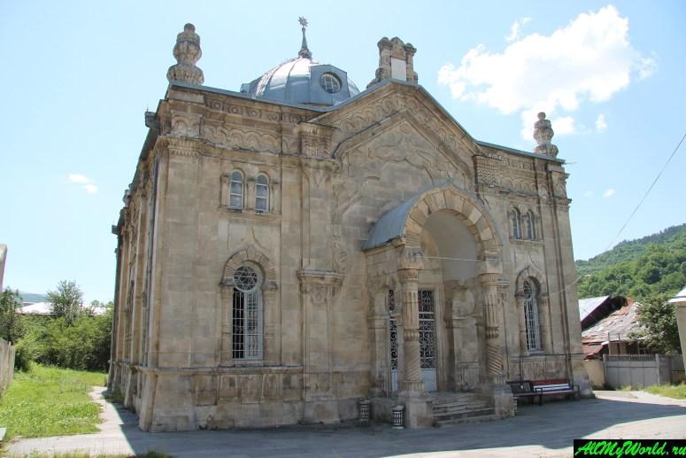 Грузия, Рача - синагога в Они