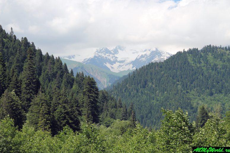 Грузия, Рача - Удзера
