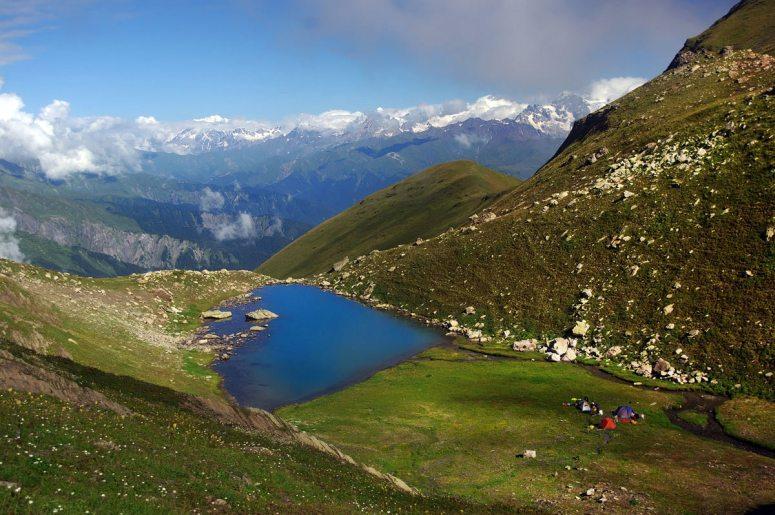 Грузия, Рача - озеро Удзиро