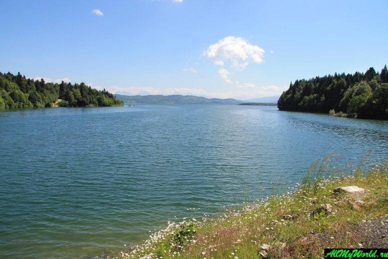 Грузия, Рача - водохранилище Шаори