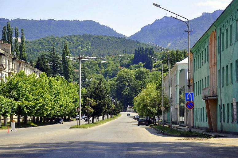 Грузия, Рача - Ткибули