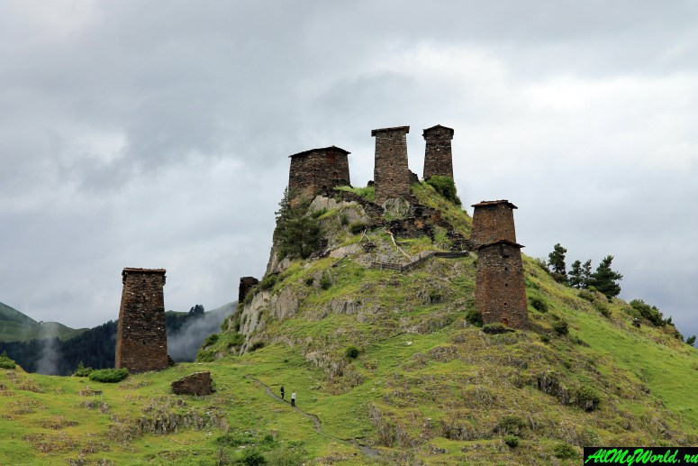 Грузия, Тушетия, крепость Кесело