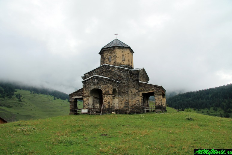 Грузия, Тушетия - Шенако