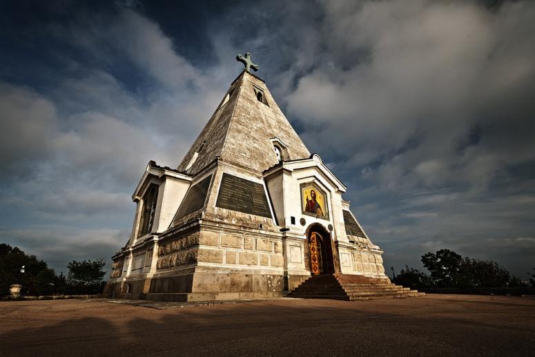 Достопримечательности Севастополя - Храм-пирамида Святого Николая