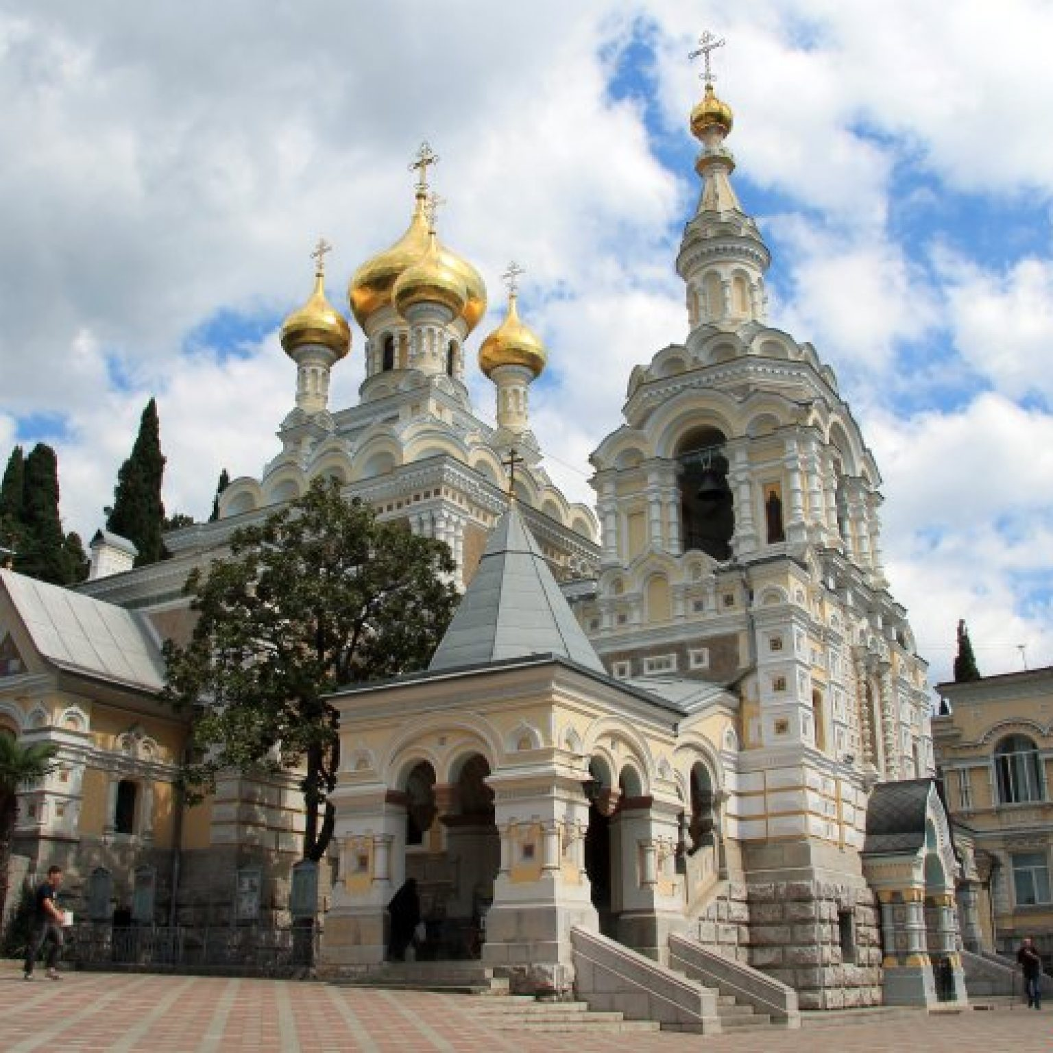 Достопримечательности Ялты – Собор Александра Невского