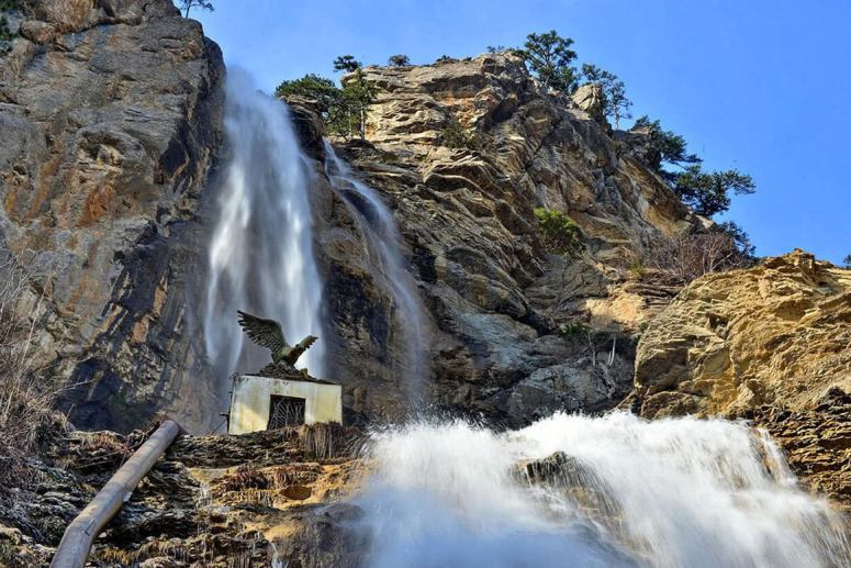 Достопримечательности Ялты – Водопад Учан-Су