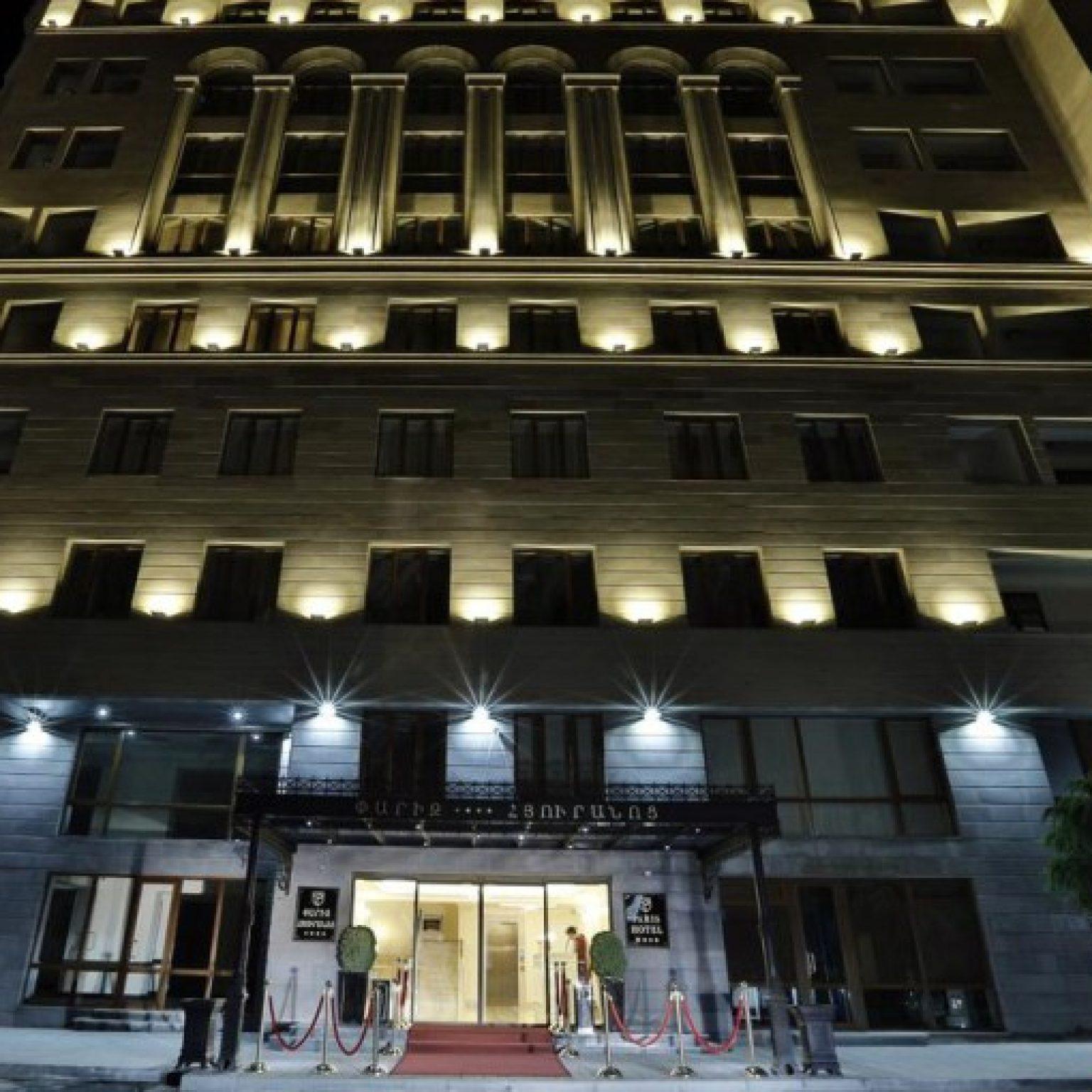 Где остановиться в Ереване: Paris Hotel Yerevan