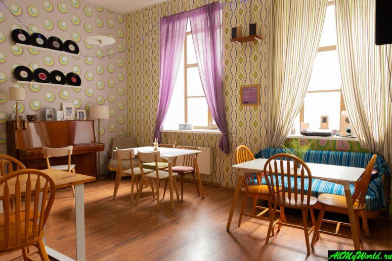 Где остановиться в Санкт-Петербурге - Baby Lemonade Hotel
